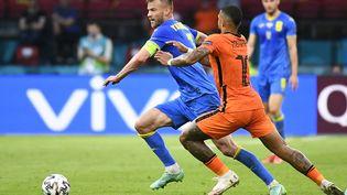 Yarmolenko a réduit le score pour l'Ukraine face aux Pays-Bas, le 13 juin à Amsterdam (PIROSCHKA VAN DE WOUW / POOL)