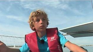 Passion : douze ans et déjà l'envie de naviguer (FRANCE 2)
