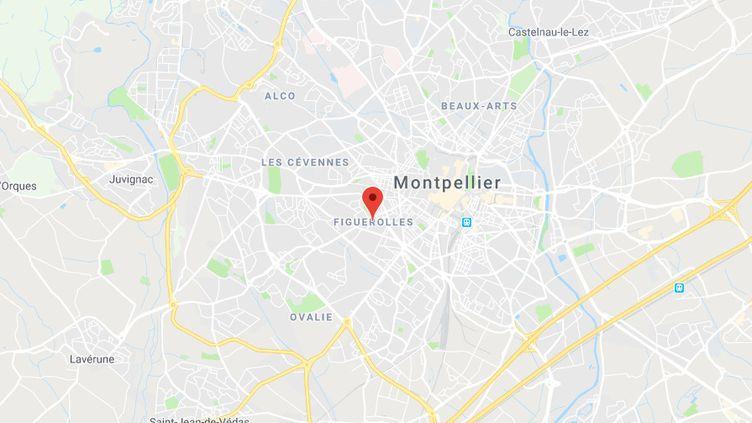 L'école est située dans le quartier de Figuerolles. (CAPTURE D'ECRAN GOOGLE MAPS)