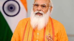Le Premier ministre indien Narendra Modi célèbre la 7e Journée internationale du yoga. (AFP / PIB)