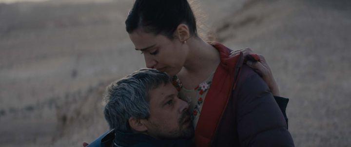 """Avshalom Pollak et Nur Fibak dans """"Le Genou d'Ahed"""" de Navad Lapid. (PYRAMIDE DISTRIBUTION)"""