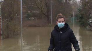 Inondations : les habitants de Seine-et-Marne portent un regard inquiet sur la Marne (France 3)