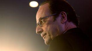 François Hollande délivre un discours à Vitry-le-François (Marne), le 7 mars 2017.  (FRANCOIS NASCIMBENI/AFP)