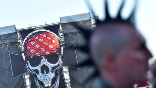 Le Hellfest a lieu à Clisson,en Loire-Atlantique, du 21 au 23 juin. (LOIC VENANCE / AFP)