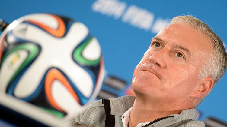 Le sélectionneur des Bleus, Didier Deschamps (EVARISTO SA / AFP)