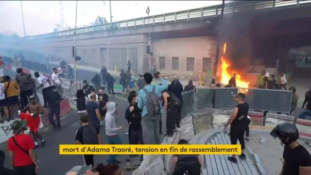 Paris : une manifestation en soutien à Adama Traoré dégénère