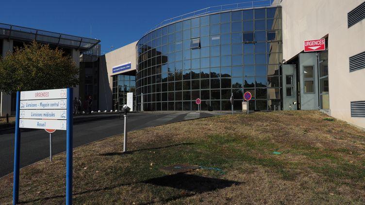 L'hôpital du Blanc, dans l'Indre. (GUILLAUME SOUVANT / AFP)