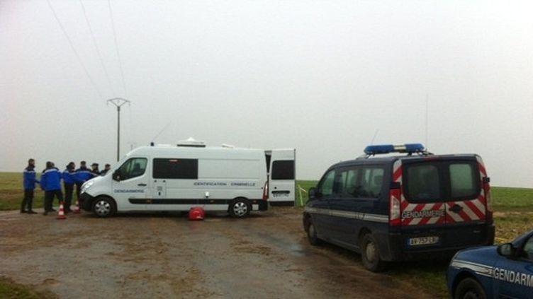Six personnes sont mortes, mardi 19 novembre, dans le crash d'un avion de tourisme, dans l'Yonne. (FRANCE 3 BOURGOGNE)