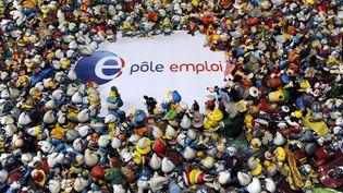 Le nombre de demandeurs d'emploi inscrits à Pôle emploi en catégorie A s'établit à 3 509 800 en France métropolitaine à la fin mars 2015, un chiffre en augmentation de 0,4% par rapport au mois précédent. (SARAH ALCALAY / SIPA)