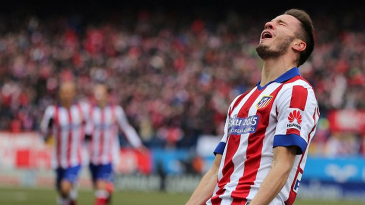 La joie de Niguez (Atletico Madrid) (CESAR MANSO / AFP)