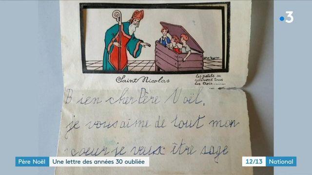 Noël : une lettre datant des années 30 et destinée au père Noël a été retrouvée