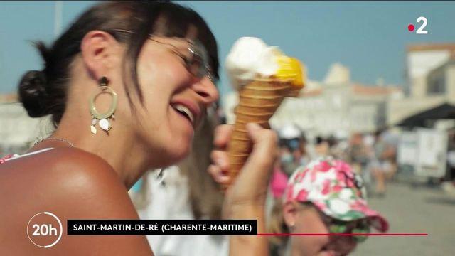 Vacances : à Saint-Martin-de-Ré, les glaciers ont le sourire