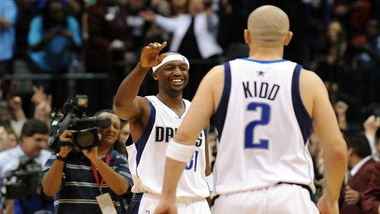 Jason Terry et Jason Kidd (Dallas)