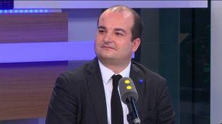 David Rachline, sénateur-maire FN de Fréjus, directeur de campagne de Marine Le Pen, invité de franceinfo mercredi 1er février 2017 (RADIO FRANCE / FRANCEINFO)