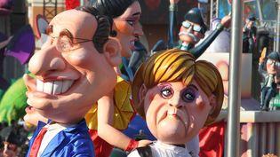 Gros sucès pour François Hollande et Angela Merkel  (Sylvestre/MAXPPP)