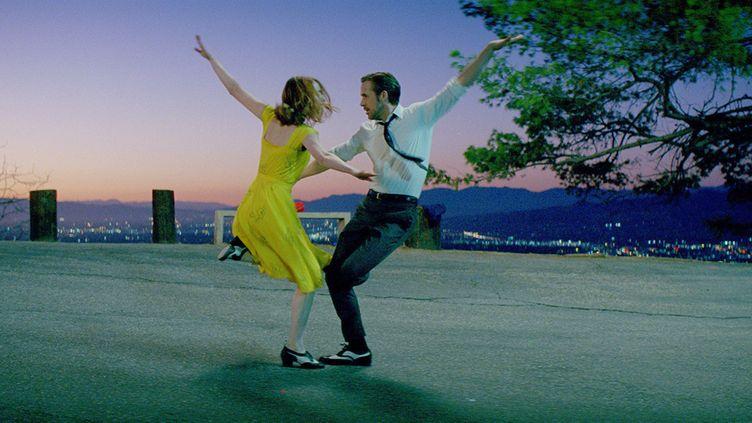 "Emma Stone et Ryan Gosling dans ""La La Land"", de Damien Chazelle. (BLACK LABEL MEDIA / GILBERT FILM / AFP)"