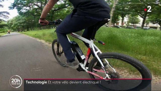 Technologie : transformez votre vélo en vélo electrique