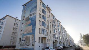 L'immeuble du 8e arrondissement de Lyon (Rhône) où s'est produit le quintuple homicide, le 6 décembre 2015. (ROMAIN LAFABREGUE / AFP)