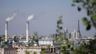 Le seuil d'alerte à la pollution aux particules a été déclenché le 9 décembre 2013 et restera maintenu jusqu'au 10. (GABRIEL BOUYS / AFP)