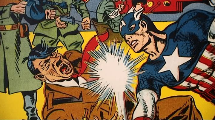 Captain America, le super-héros symbole de la lutte contre le nazisme  (France 3 culturebox)