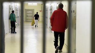 Des détenus au centre pénitentiaire de Nancy. (ALEXANDRE MARCHI / MAXPPP)