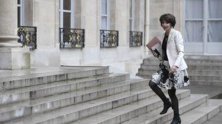 L'ex-ministre de la Santé, Marisol Touraine, le 8 mars 2017 à l'Élysée. (STEPHANE DE SAKUTIN / AFP)
