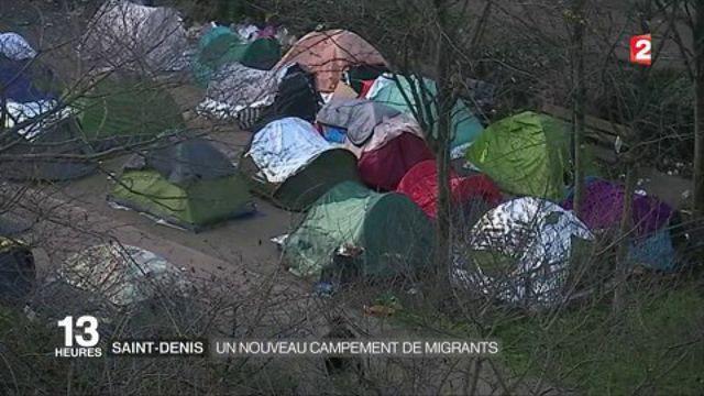 Saint-Denis : un nouveau camp de migrants suscite la polémique