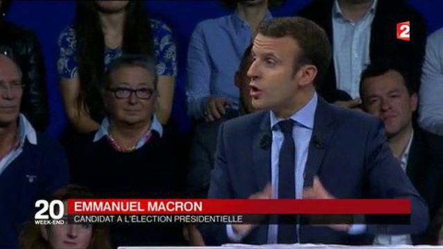 Emmanuel Macron : démonstration de force