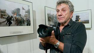 Le photographe de guerre Patrick Chauvel (RAYMOND ROIG / AFP)