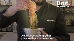 VIDEO. La vie du chef cuisinier Pierre Sang à travers la recette du bibimbap (BRUT)