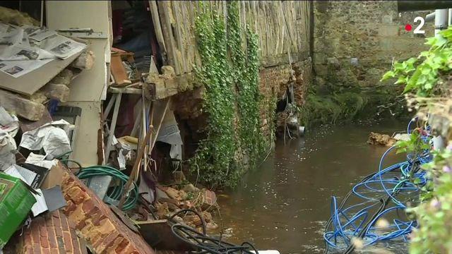 Intempéries : la commune de Sap-en-Auge touchée par d'importantes inondations
