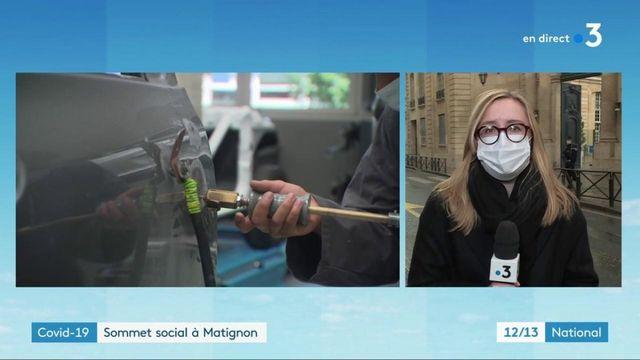 Crise sanitaire : troisième conférence du dialogue social, Jean Castex reçoit les partenaires sociaux