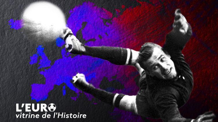 Lev Yachine a remporté le premier Euro de l'histoire avec l'URSS en 1960 (Florian Parisot/FranceInfo Sport/AFP)