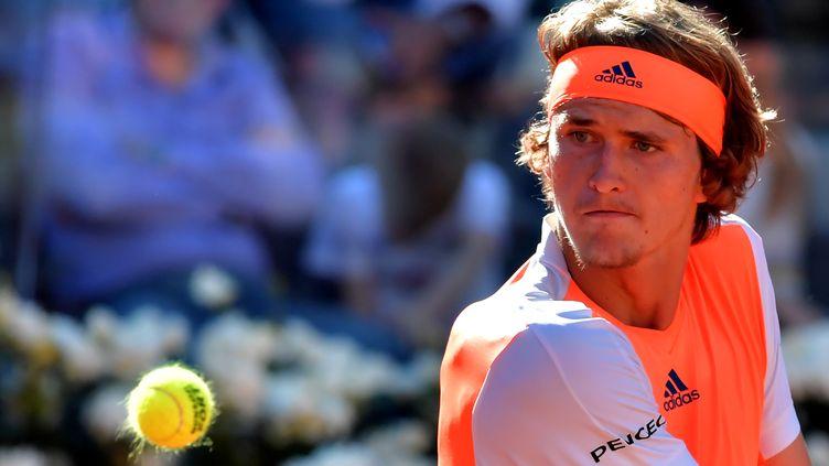 Le joueur allemand Alexander Zverev (TIZIANA FABI / AFP)