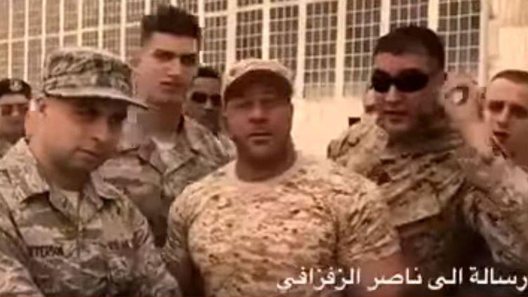 Faux Marines marocains (DR/Capture d'écran )