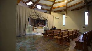 Dans une salle du crématorium de Nice (Alpes-Maritimes), en novembre 2012. (MAXPPP)