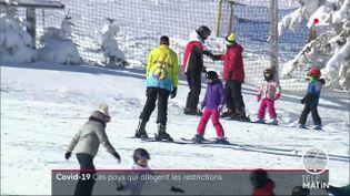 Des pistes de ski en Pologne. (France 2)