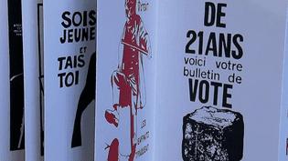 68 affiches de Mai 68 rééditées dans un très beau livre accordéon.  (France 3 / Culturebox)