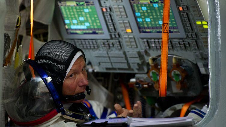 Le cosmonaute Guennady Padalka participe à un entraînement au centre Gagarin, près de Moscou (Russie), le 5 mars 2015. ( AFP )