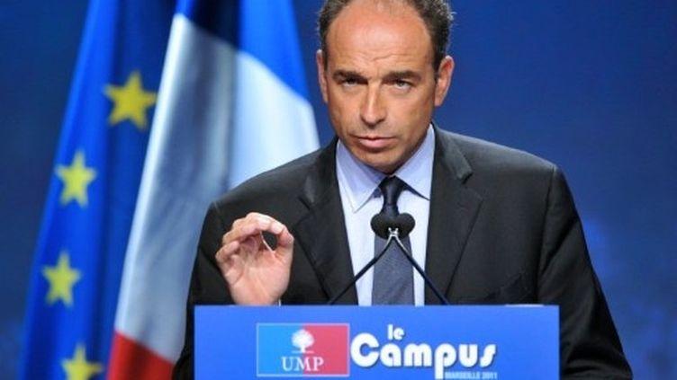 """Jean-François Copé lance la """"mobilisation générale"""" en vue de 2012. (AFP - Gérard Julien)"""