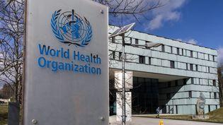 Le siège de l'OMS à Genève (Suisse). (VINCENT ISORE / MAXPPP)
