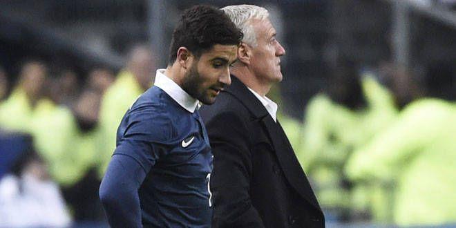 Nabil Fékir a connu sa première titularisation avec l'équipe de France contre le Brésil