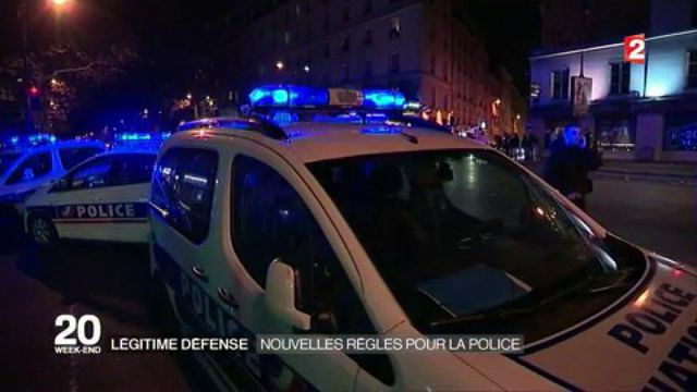 Légitime défense : nouvelles règles pour la police
