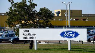 L'usine Ford Aquitaine à Blanquefort (Gironde), le 27 février 2018. (NICOLAS TUCAT / AFP)