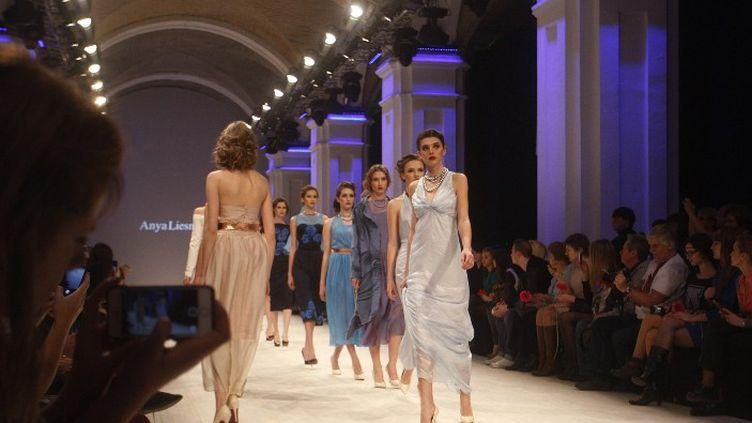 Semaine de la mode en Ukraine (mars 2014)  (YURY KIRNICHNY / AFP)