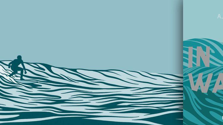 """Couverture de """"In Waves"""" et page intérieure 132 (AJ Dungo / Casterman)"""