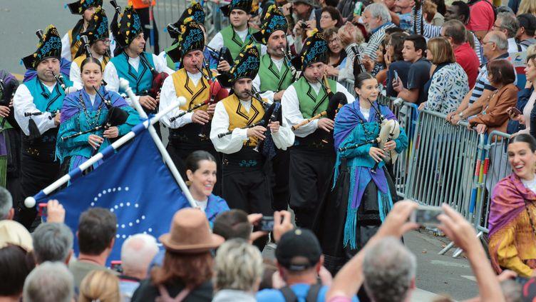 La grande parade du Festival interceltique de Lorient, le 4 août 2019 (FRANCOIS DESTOC / PHOTOPQR / LE TELEGRAMME / MAXPPP)