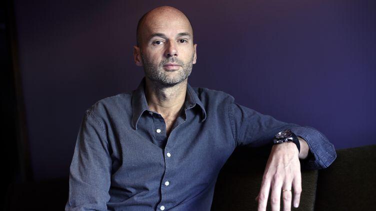 Bruno Ledoux, nouvel actionnaire du Biarritz Olympique. (THOMAS SAMSON / AFP)