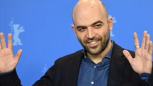 L'écrivain et scénariste Roberto Saviano à Berlin, le 12 février 2019  (Ralf Hirschberger / DPA / DPA PICTURE ALLIANCE / AFP)
