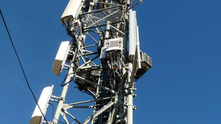 Une antenne-relais (image d'illustration) (VINCENT PILLET / RADIO FRANCE)